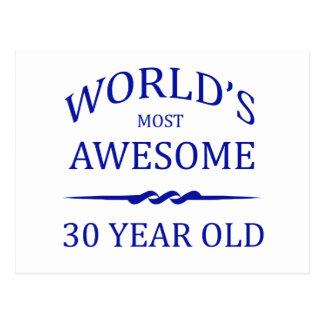 Carte Postale Ans les plus impressionnants du monde 30