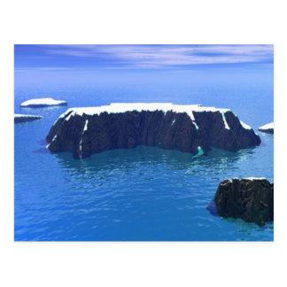 Carte Postale antartica 3000AD