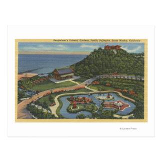 Carte Postale Antenne du jardin oriental de Bernheimer