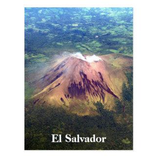 Carte Postale antenne Salvador de volcan