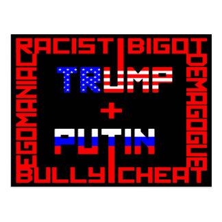 Carte Postale Anti atout+Poutine