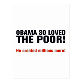 Carte Postale Anti Obama