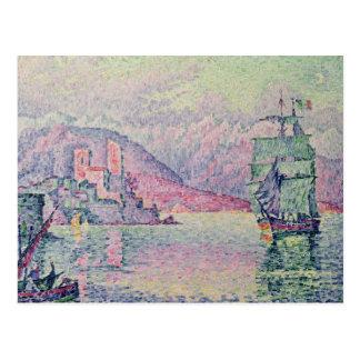 Carte Postale Antibes, Evening, 1914