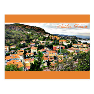 Carte postale Antibes, France