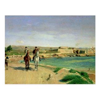 Carte Postale Antibes, le tour de cheval, 1868