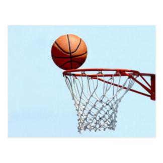 Carte Postale Anticipation de basket-ball