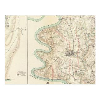 Carte Postale Antietam, le ferry du harpiste, Sharpsburg