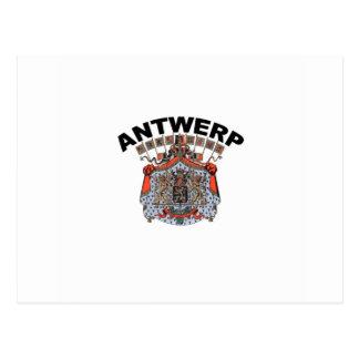 Carte Postale Anvers, Belgique