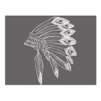 Carte Postale Apache