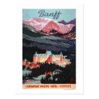 Carte Postale Aperçu de l'affiche de Fairmont Banff Springs