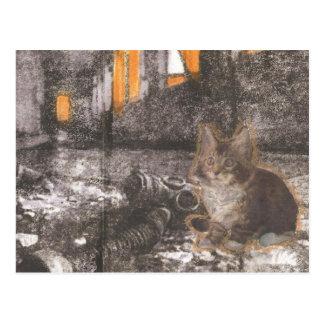 Carte Postale Apocalypse Kitty