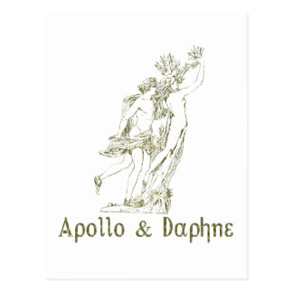 Carte Postale Apollo et Daphne