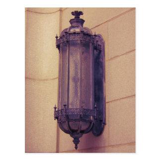 Carte Postale Appareil d'éclairage gothique