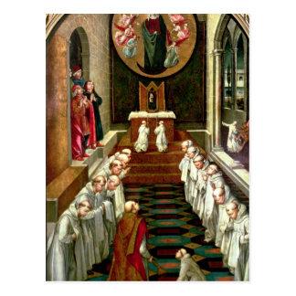 Carte Postale Apparition de la Vierge à une Communauté