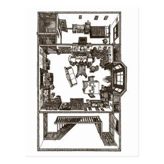 Carte Postale Appartement victorien unique