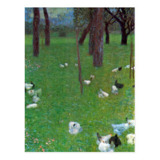Carte Postale Après la pluie par Klimt