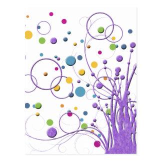 Carte postale : Arbre de bulle