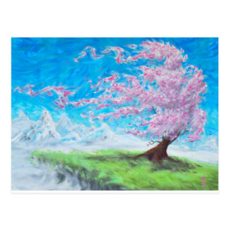 Carte Postale Arbre de floraison