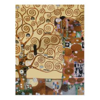 Carte Postale Arbre de Gustav Klimt de la vie