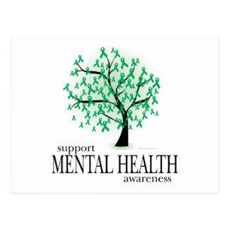 Carte Postale Arbre de santé mentale