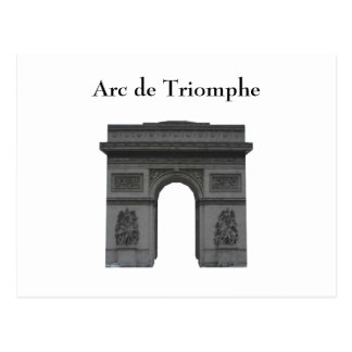 Carte postale : Arc de Triomphe