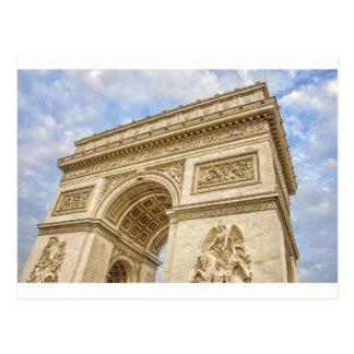 Carte Postale Arc de Triomphe à Paris