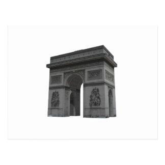 Carte Postale Arc de Triomphe : modèle 3D :