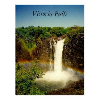 Carte Postale arc des chutes Victoria