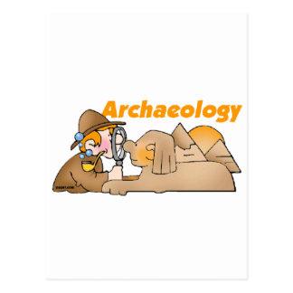 Carte Postale Archéologie