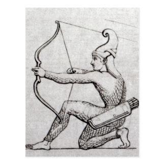 Carte Postale Archer