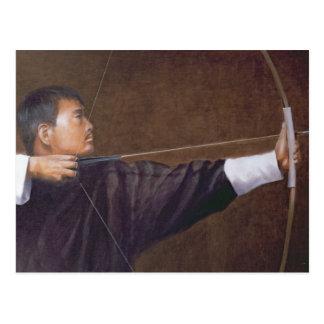 Carte Postale Archer Bhutan