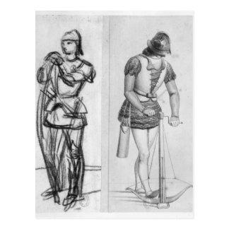 Carte Postale Archer et arbalétrier