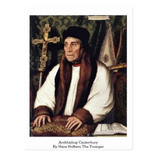 Carte Postale Archevêque Cantorbéry par Hans Holbein le plus