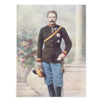 Carte Postale Archiduc Franz Ferdinand de l'Autriche