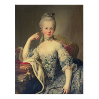 Carte Postale Archiduchesse Marie Antoinette