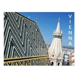 Carte Postale Architecture à Vienne, Autriche