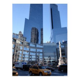 Carte Postale Architecture New York City NYC de cercle de