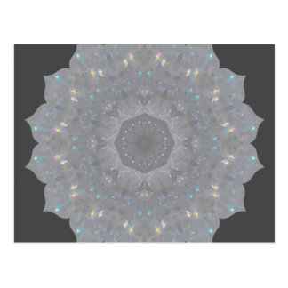 Carte Postale Arcs-en-ciel km2 de quartz de Lemurian