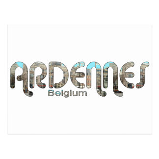 Carte Postale Ardennes, Belgique