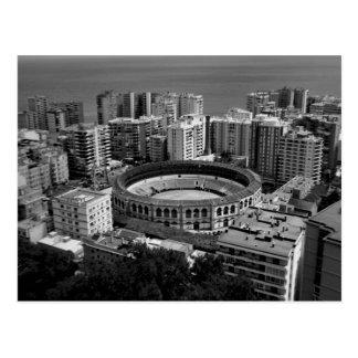 Carte Postale Arène à Malaga, Espagne
