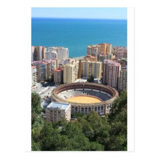 Carte Postale Arène de Malaga