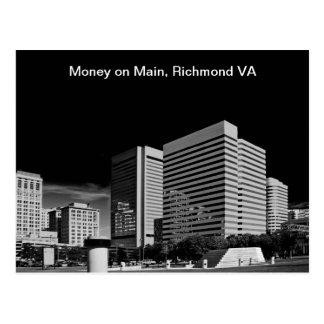 Carte Postale Argent sur la canalisation, Richmond la Virginie