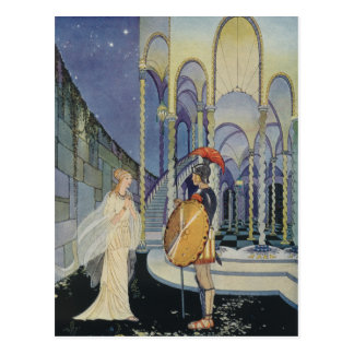 Carte Postale Ariadne et Theseus