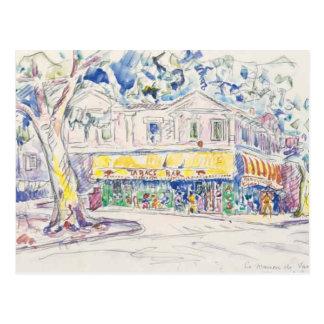Carte Postale arles 1933 du maison De Van Gogh de signac de Paul
