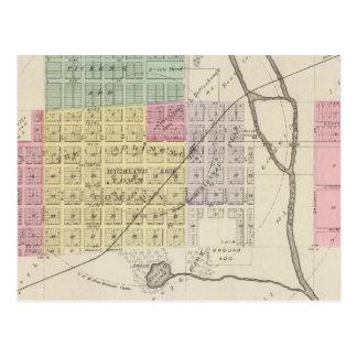 Carte Postale Arlington, le Kansas