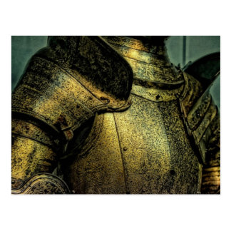 Carte Postale Armure de chevalier médiéval