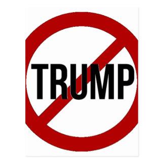 Carte Postale Arrêtez l'Anti-Atout de Donald Trump