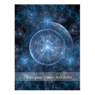 Carte Postale Arrière - plan 001 de cosmos