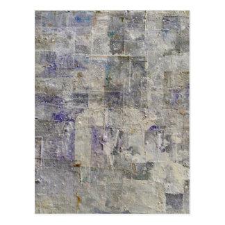 Carte Postale arrière - plan abstrait de peinture
