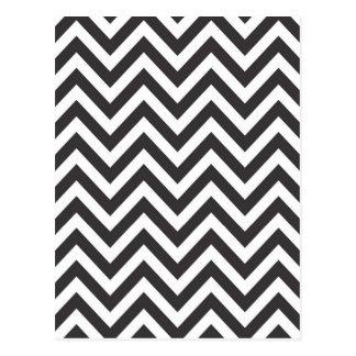 Carte Postale Arrière - plan de modèle de Zazzle de motif rayé